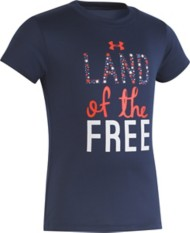 Toddler Girls' Under Armour Land Of The Free T-Shirt