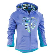 Toddler Girls' Under Armour Geo Stripe Elevate The Brand Hoodie