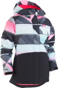Grade School Girls' Under Armour Treetop Print Jacket