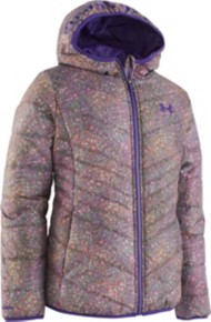 Preschool Girls' Under Armour Prime Print Puffer Jacket