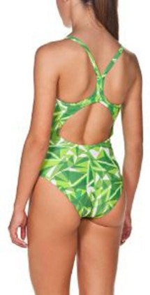 Women's Arena North America Shattered Glass Light Drop Swimsuit
