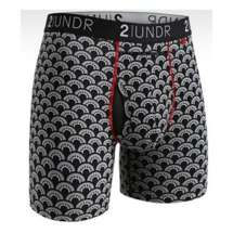 """Men's 2UNDR Swing Shift 6"""" Boxer Breif"""