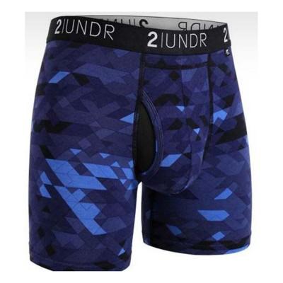 """Men's 2UNDR Swing Shift 9"""" Long Leg Boxer Breif"""