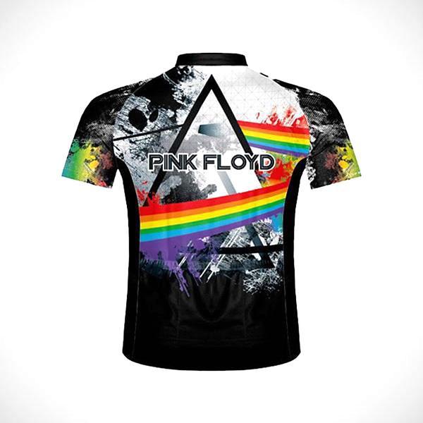 Men s Primal Wear Pink Floyd Triad Men s Cycling Jersey 07fbd9dee
