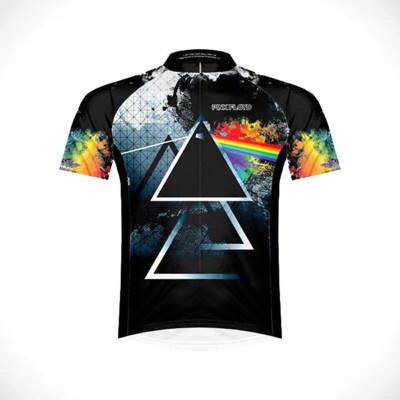Men's Primal Wear Pink Floyd Triad Men's Cycling Jersey