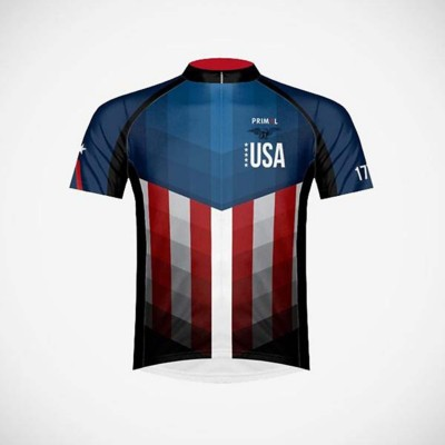 Men's Primal Wear The American Patriot Cycling Jersey
