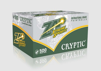 Zap Cryptic Paintballs 500 Count