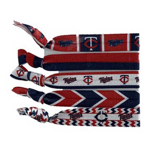 Little Earth Minnesota Twins Knotted Hair Tie