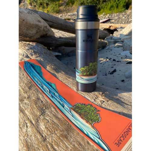 Hydrascape Island Scape Sticker
