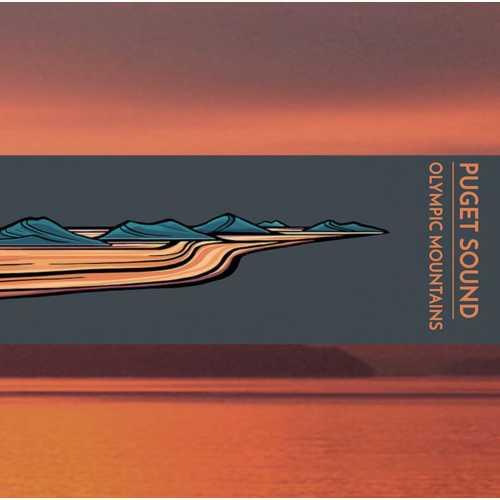 Hydrascape Puget Sound Olympics Sticker