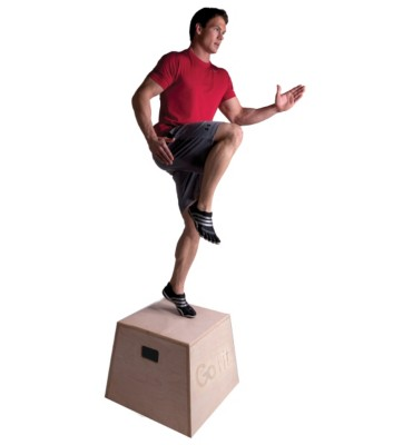 GoFit Premium Wood Plyobox