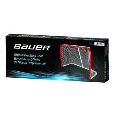 Bauer Deluxe Official Pro Steel Steel Goal