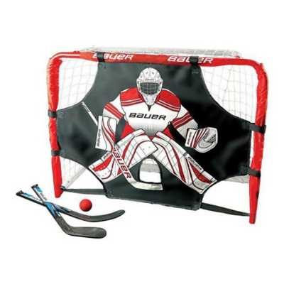 Bauer Mini Deluxe Knee Hockey Goal Set