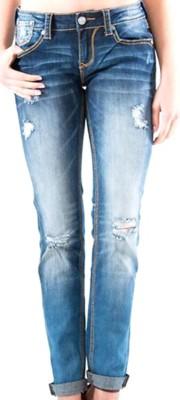 Grade School Girls' Grace in LA Stretch Skinny Jean