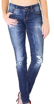 Grade School Girls' Grace in LA Soft Knit Skinny Jean