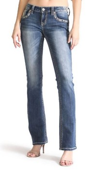 Women's Grace in LA Diamond Embellished Skinny Jean