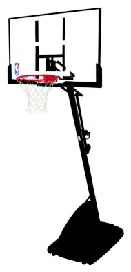 "Spalding 54"" Portable Portable Basketball System"
