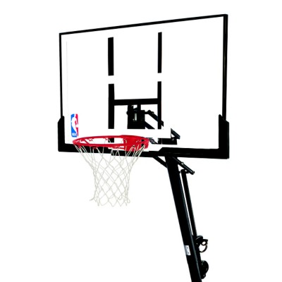 """Spalding 54"""" In-Ground Glass Basketball System"""
