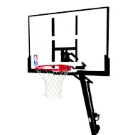 "Splading 54"" In-Ground Glass Basketball System"
