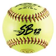 "Dudley SB12L 12"" ASA Fastpitch Softball - 6 Pack"
