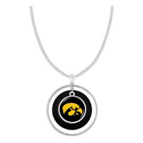 From The Heart Iowa Hawkeyes Lindy Necklace