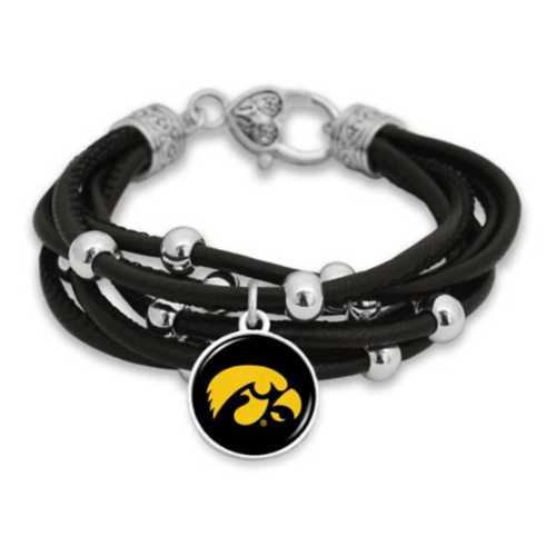 From The Heart Iowa Hawkeyes Lindy Bracelet