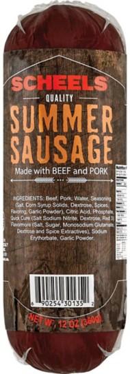 Scheels Summer Sausage
