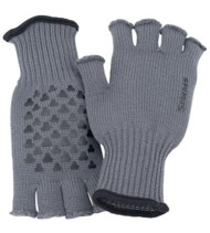 Men's Simms Wool Half-Finger Gloves
