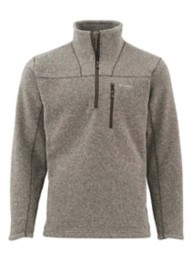 Men's Simms Rivershed Sweater 1/4 Zip