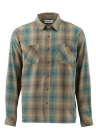 Men's Simms Black's Ford Flannel Shirt