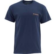 Men's Simms Woodblock Trout T-Shirt