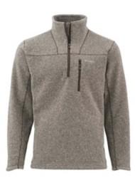 Men's Simms Rivershed Quarter Zip Sweater