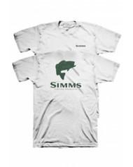 Men's Simms TOPO Camo Logo T-Shirt