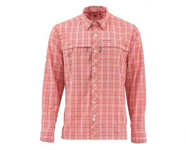Dusty Coral Plaid