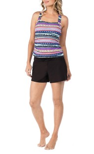 Women's 24th & Ocean Sonora Tankini Top