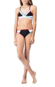 Youth Girls' Hobie Keep Piece Wrap Bikini Set