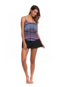 Women's 24th & Ocean Tribal Pursuit Tiered Tankini