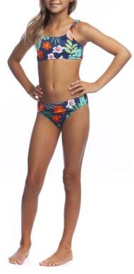 Grade School Girls' Hobie Jungle Bikini Set