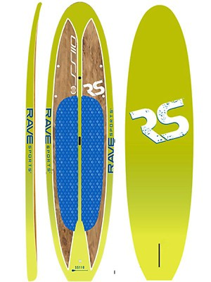"""Rave Sports Shoreline Series 10'9"""" Stand Up Paddle Board"""