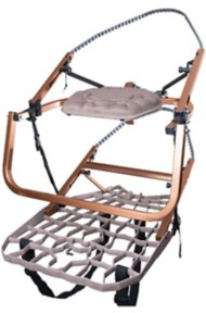 """Lone Wolf Wide Flip Top """"Combo"""" Climber Treestand"""