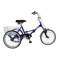 "Adult Mantis Tri-Rad Folding 20"" Tricycle"