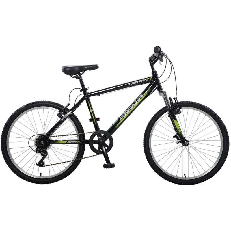 "Piranha 24"" Frenzy 7 Speed Bike"