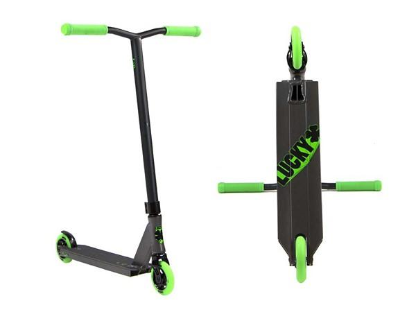 Graphite/Green