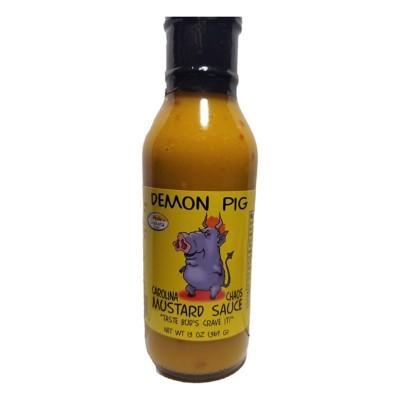 Demon Pig Carolina Chaos Mustard Sauce