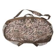 Banded Silhouette Satchel Bag