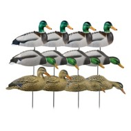 Greenhead Gear Hunter Series Over-Sized Mallard Harvester Shell Decoys