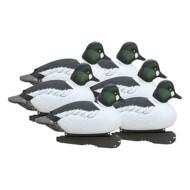 Greenhead Gear Hunter Series Foam Filled Over-Size Goldeneye Duck Decoys 6-Pack