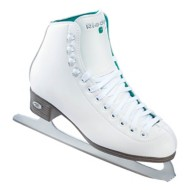 Youth Riedell 10 Opal Figure Skates