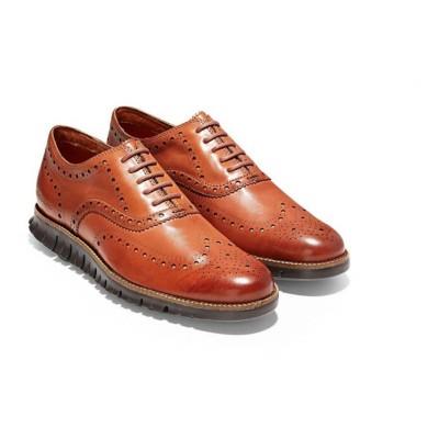 Men's Cole Haan ZeroGrand Wingtip Oxford Dress Shoes