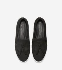 Women's GrandPro Spectator Kiltie Tassel Slip On Sneaker